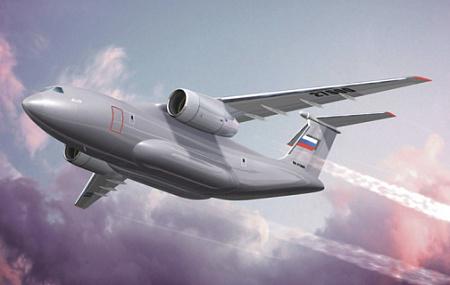 Ил-276 должен стать новым отечественным средним транспортным самолетом. Иллюстрация с сайта www.ilyushin.org