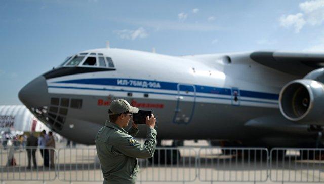Ил-76МД-90А. Архивное фото.