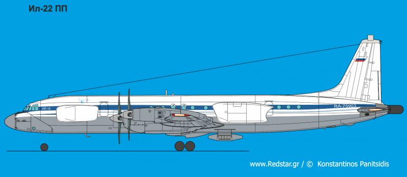 Предусмотрены работы по модернизации самолетов Ил-22 из состава в вариант Ил-22ПП. К 2012-2013г запланировано серийная модернизация первого борта, ведутся работы по двумя следующими - на 2013-2014г.