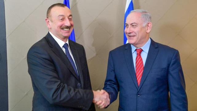Ильхам Алиев и Биньямин Нетаньяху