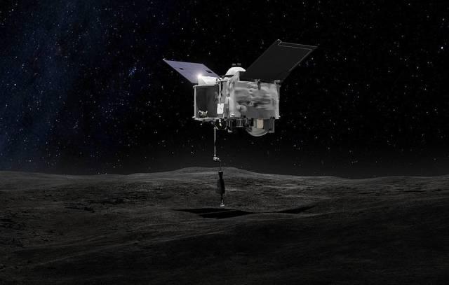 Иллюстрация зонда OSIRIS-REx