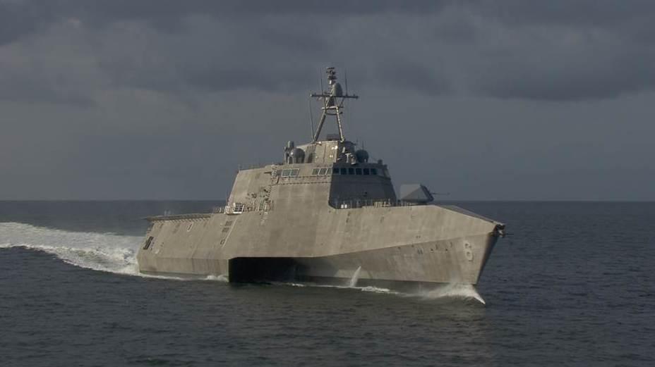 Корабль типа Independence.