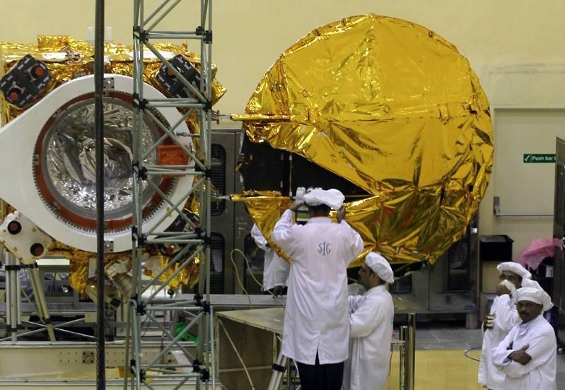 Индийская организация космических исследований (ISRO).