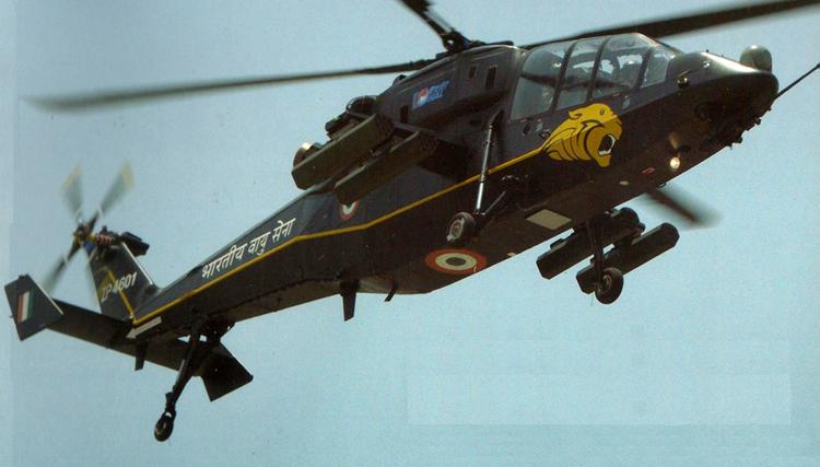 Индийский вертолет LCH.