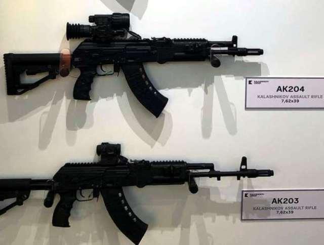 Автоматы АК-204 и АК-203