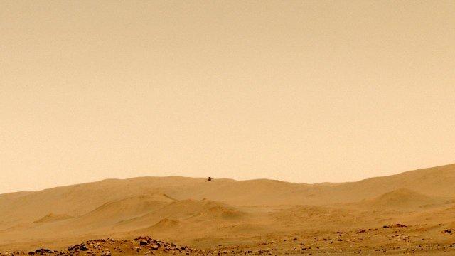 «Индженьюити» приступил к исследованиям Марса с высоты