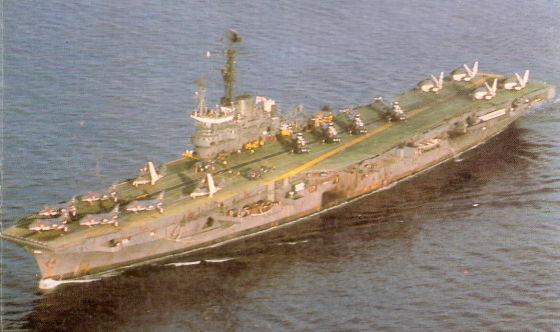 Индийский  авианосец INS Vikrant