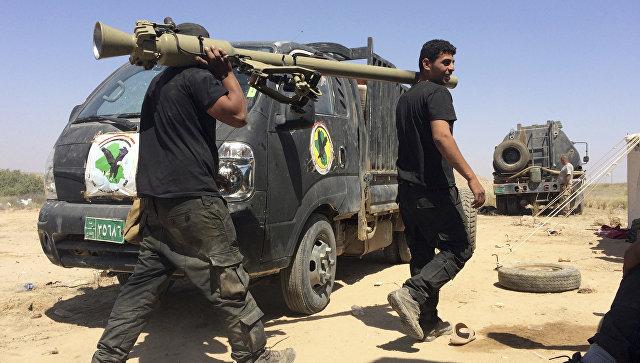 Иракские контртеррористические силы. Архивное фото.