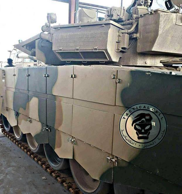 Танк Т-90С ВС Ирака.
