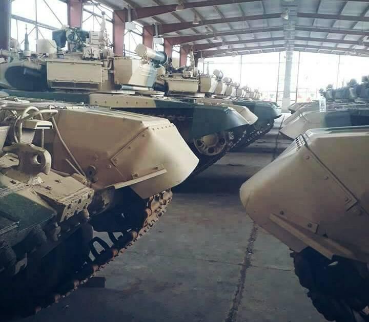 Танки Т-90С ВС Ирака.