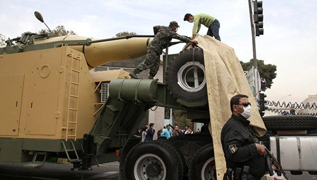 Иранская ракета земля-земля. Архивное фото.