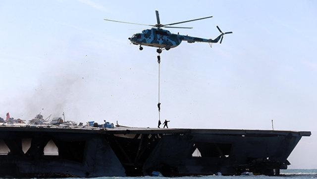 Иранский флот. Архивное фото.