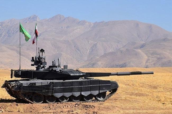 Иранский танк Karrar.