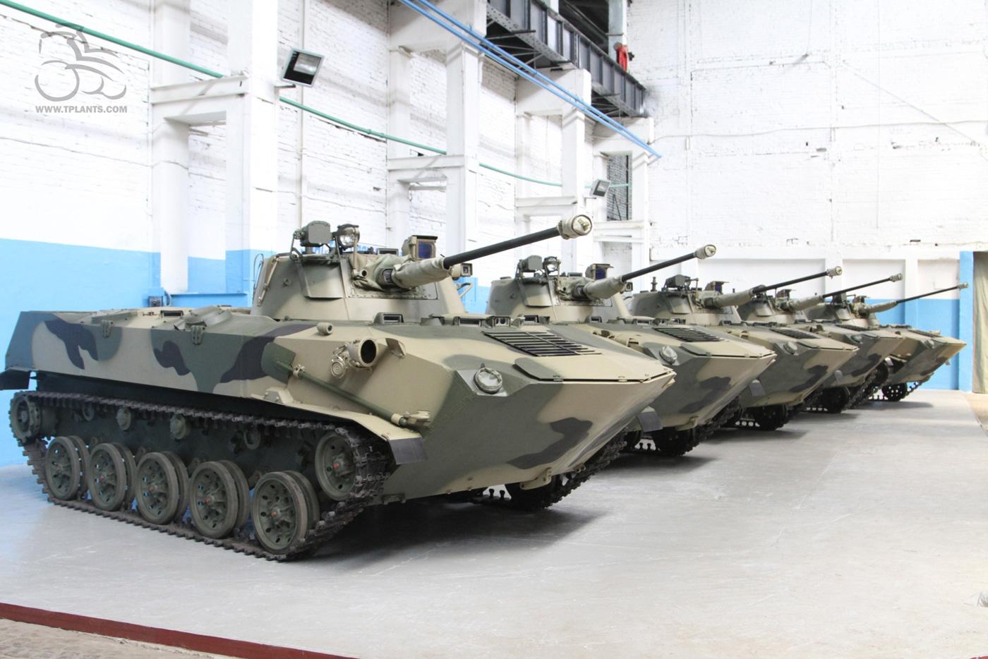 Модернизированные БМД-2 к отправке в войска готовы.