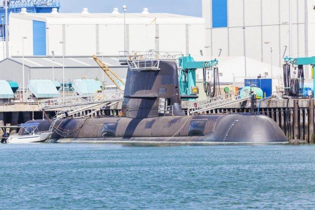 Испанская подводная лодка S-80 Plus.
