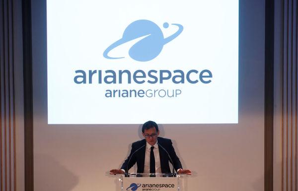 Исполнительный директор компании Arianespace Стефан Исраэль