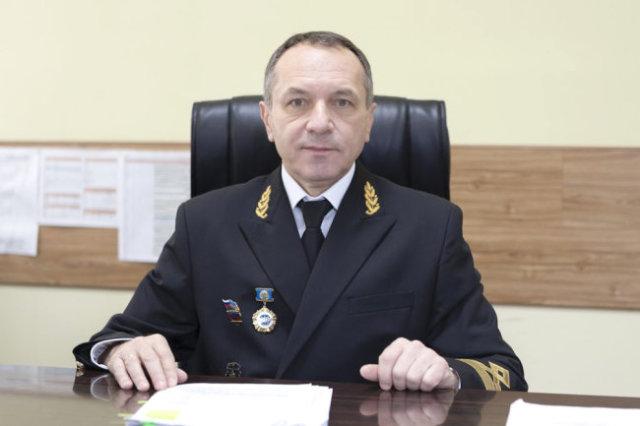 Исполняющий обязанности руководителя Морспасслужбы Виктор Чернов.