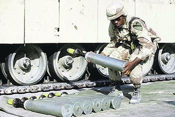 Использование американцами снарядов с обедненным ураном в ходе иракской кампании. Фото с сайта www.defense.gov