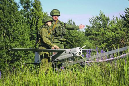 Использование БПЛА приобретает все более экзотические формы. Фото с сайта www.mil.ru
