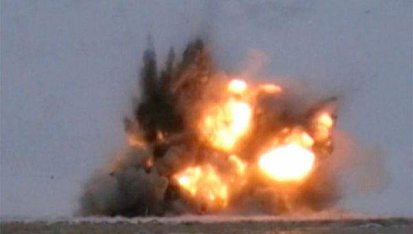 Испытание авиационной ракеты Кинжал. Архивное фото