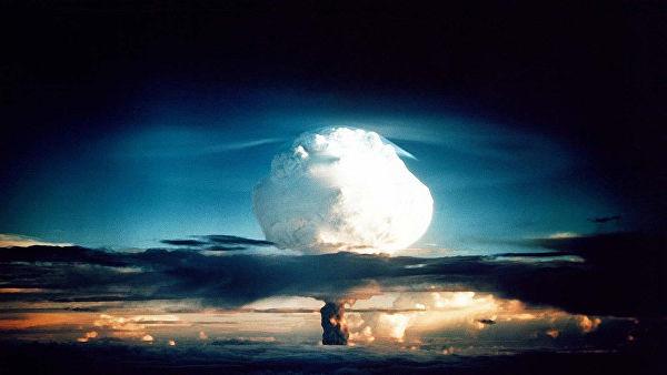 Испытание термоядерного взрывного устройства в США