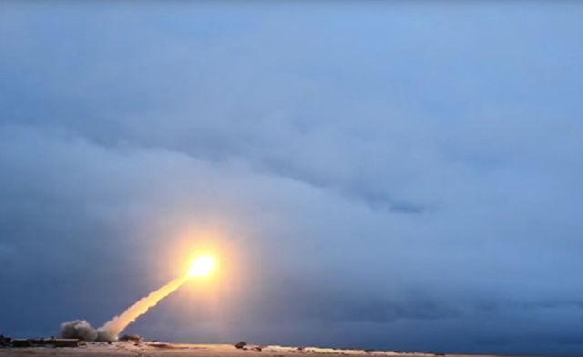 """Испытания крылатой ракеты с ядерным двигателем """"Буревестник"""""""