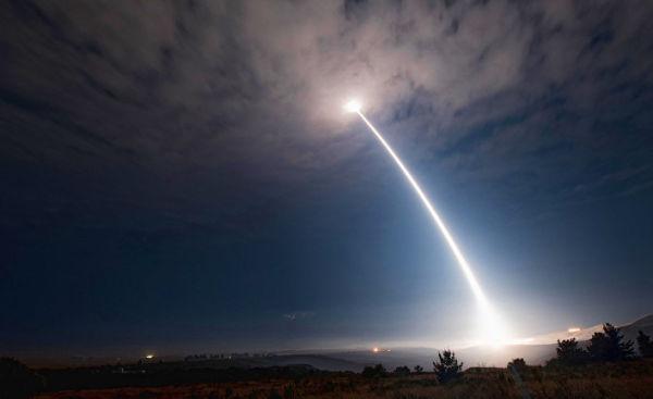 Испытания межконтинентальной баллистической ракеты Minuteman III
