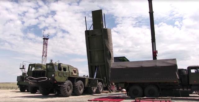 Испытания ракетного комплекса Авангард.