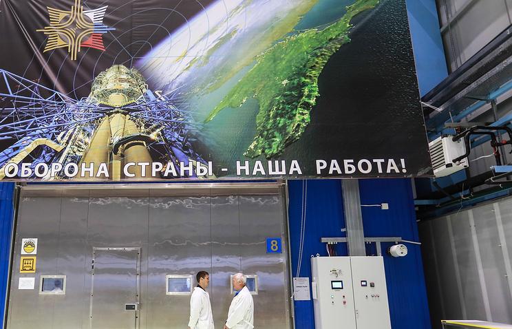 """Испытательный комплекс концерна ВКО """" Алмаз-Антей"""", Санкт-Петербург."""