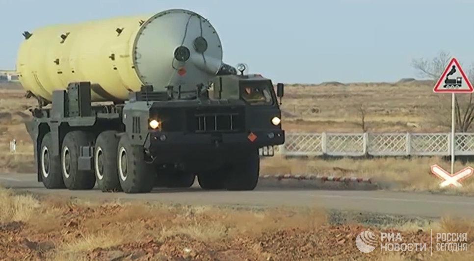 Испытательный пуск новой модернизированной ракеты российской системы ПРО. Архивное фото.