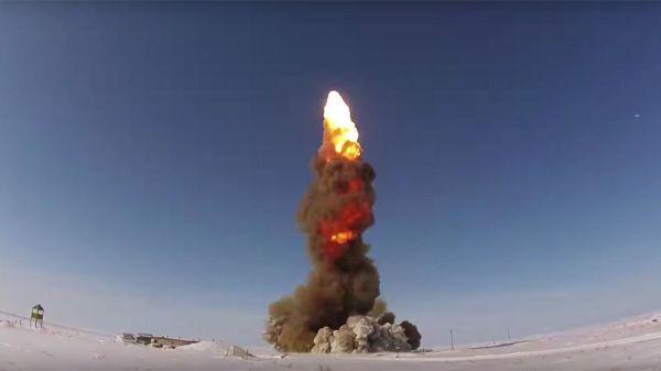 Испытательный пуск новой противоракеты ПРС-1М (53Т6М)