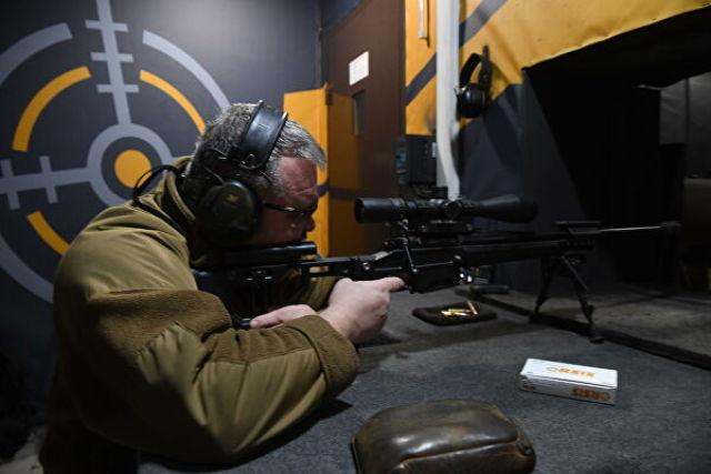 Испытание оружия в компании ORSIS