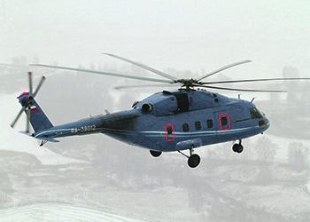 Испытания вертолета Ми-38. Фото с сайта www.russianhelicopters.aero