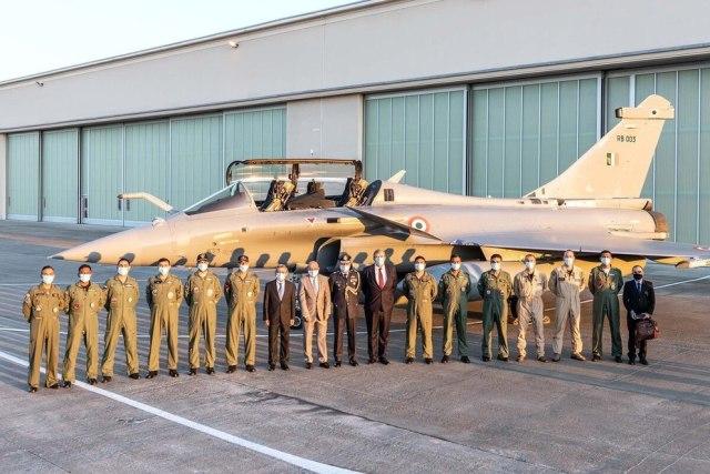 Истребитель Dassault Rafale ВВС Индии