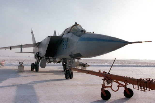 Истребитель МиГ-31М.