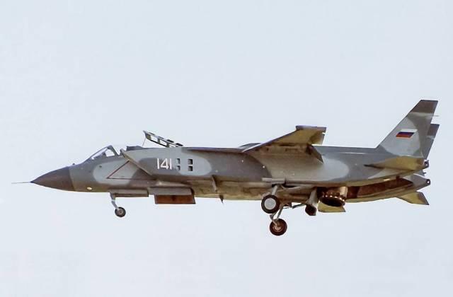 Истребитель вертикального взлета и посадки Як-141, 1992 год