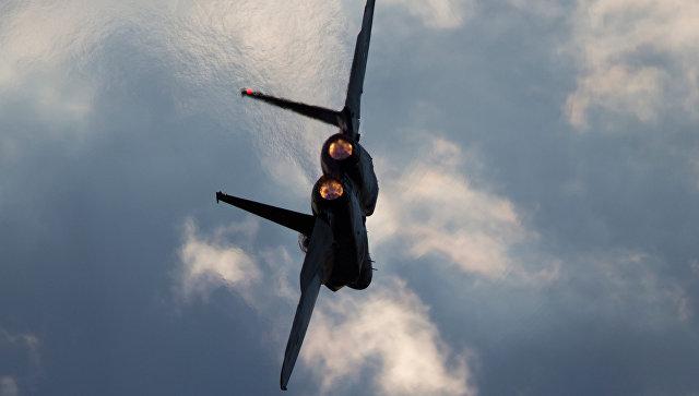 Истребитель F-15 ВВС Израиля.