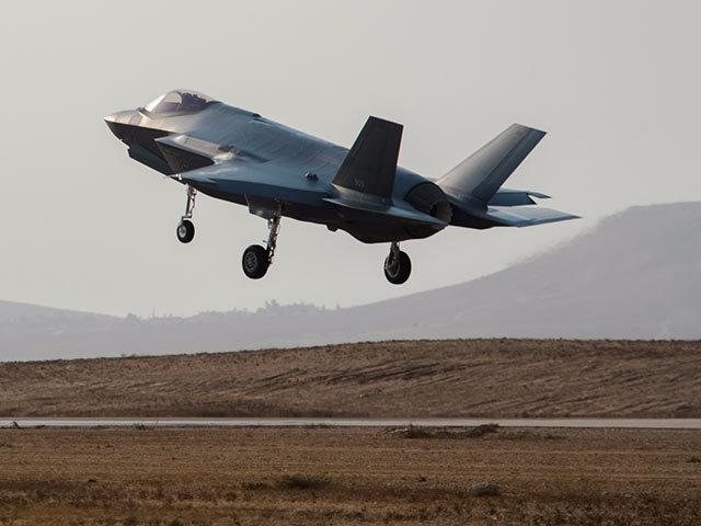 Истребитель F-35 Adir ВВС Израиля.
