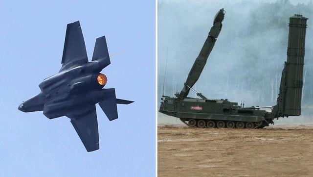 Истребитель F-35 и ЗРК С-300