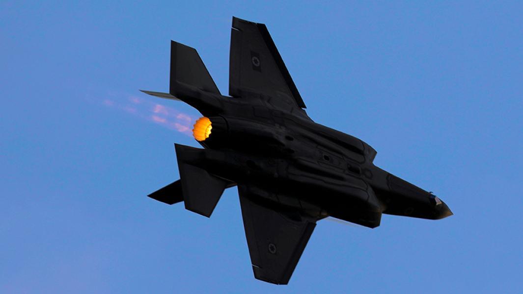 Истребитель F-35A.