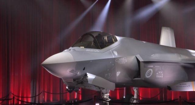Истребитель F-35А, построенный для ВВС Турции.