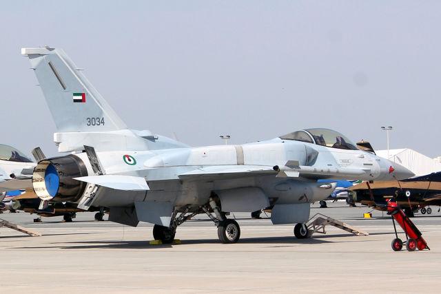 Истребитель Lockheed Martin F-16Е Вlock 60