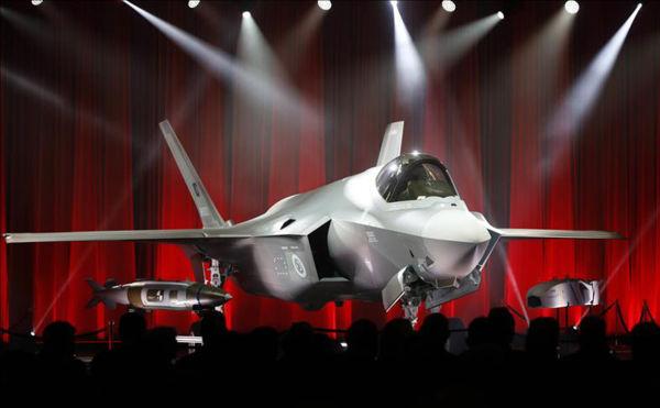 Истребитель Lockheed Martin F-35А Lightning II