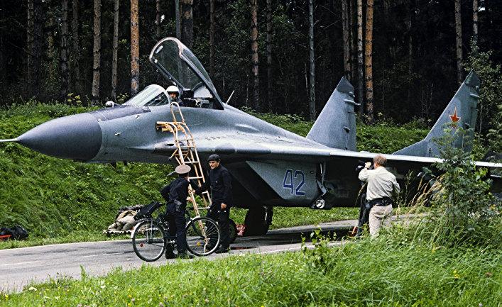 Истребитель МиГ-29.