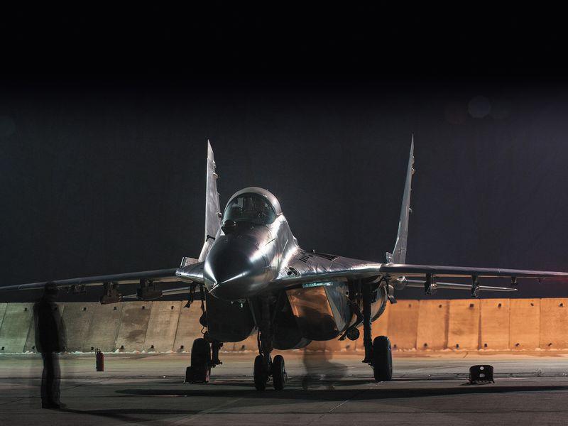 Истребитель МиГ-29 ВВС Польши