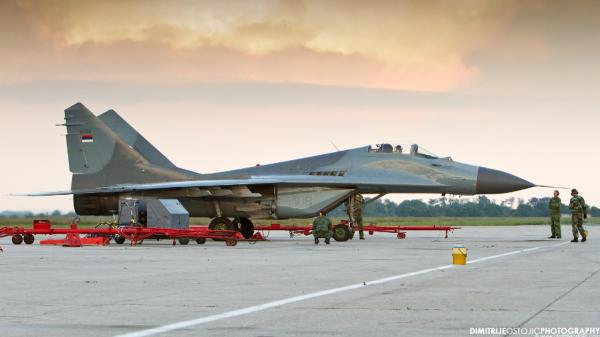 Истребитель МиГ-29Б ВВС Сербии