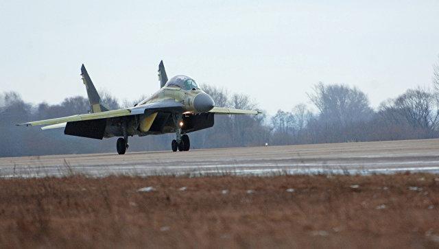 Истребитель МиГ-29К/МиГ-29КУБ. Архивное фото.