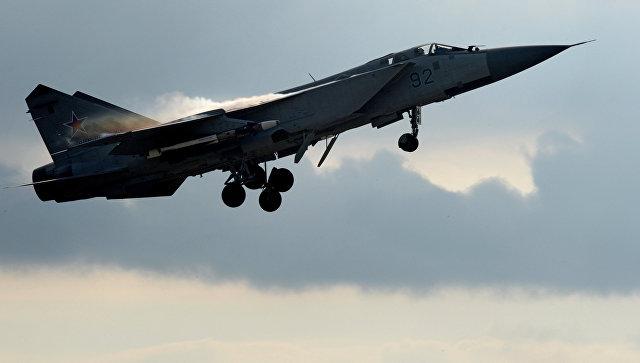 Истребитель МиГ-31. Архивное фото.