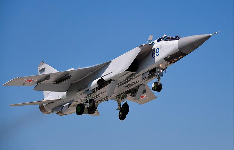 Истребитель МиГ-31БМ.