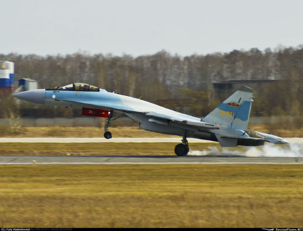 Истребитель Су-35 ВВС НОАК